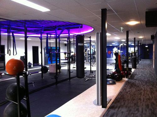 energiebesparing verlichting in sportschool