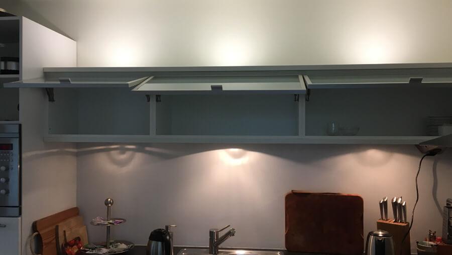 verlichting keuken oude situatie